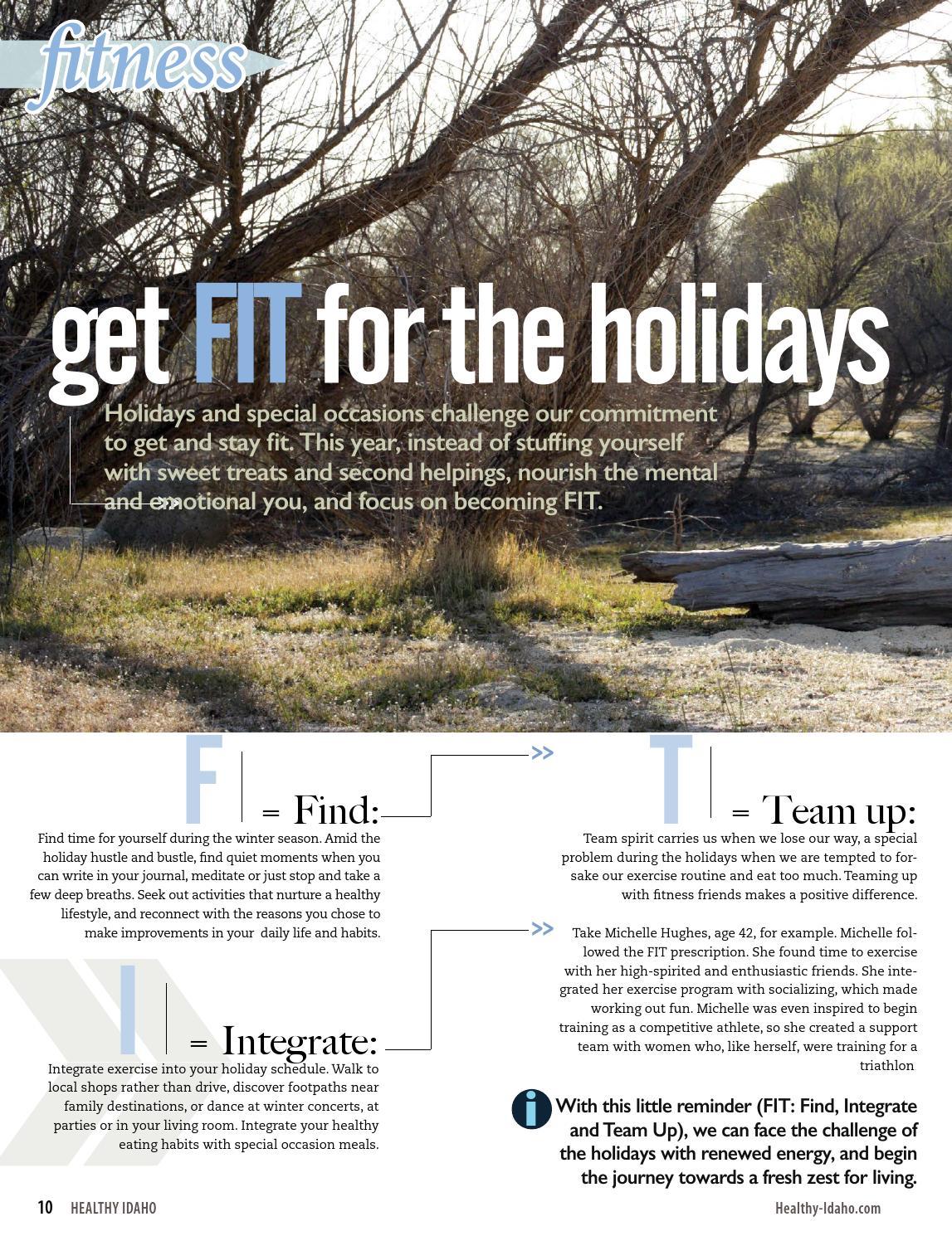 Healthy Idaho | October '15 by Healthy Magazine - issuu