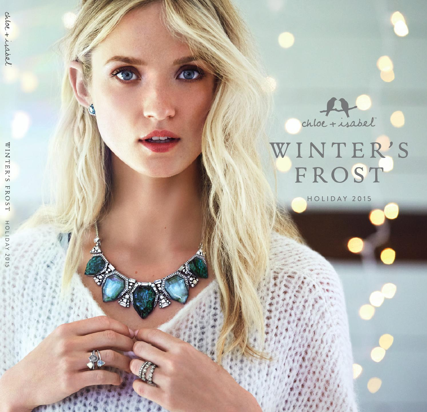 Chloe Snow 2015: The Perfect Collection to Embrace Winter