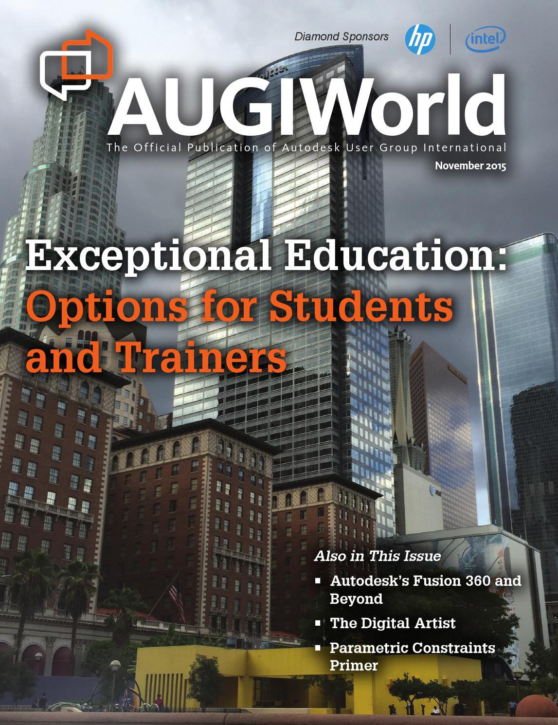 AUGIWorld by Autodesk User Group International, Inc  - issuu