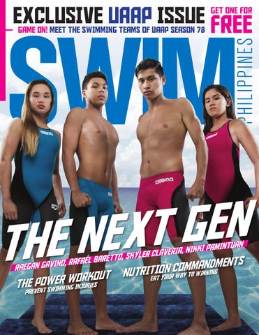 ee8541f74e2 Swim Philippines UAAP Issue by Sports R Us Marketing & Events Group ...