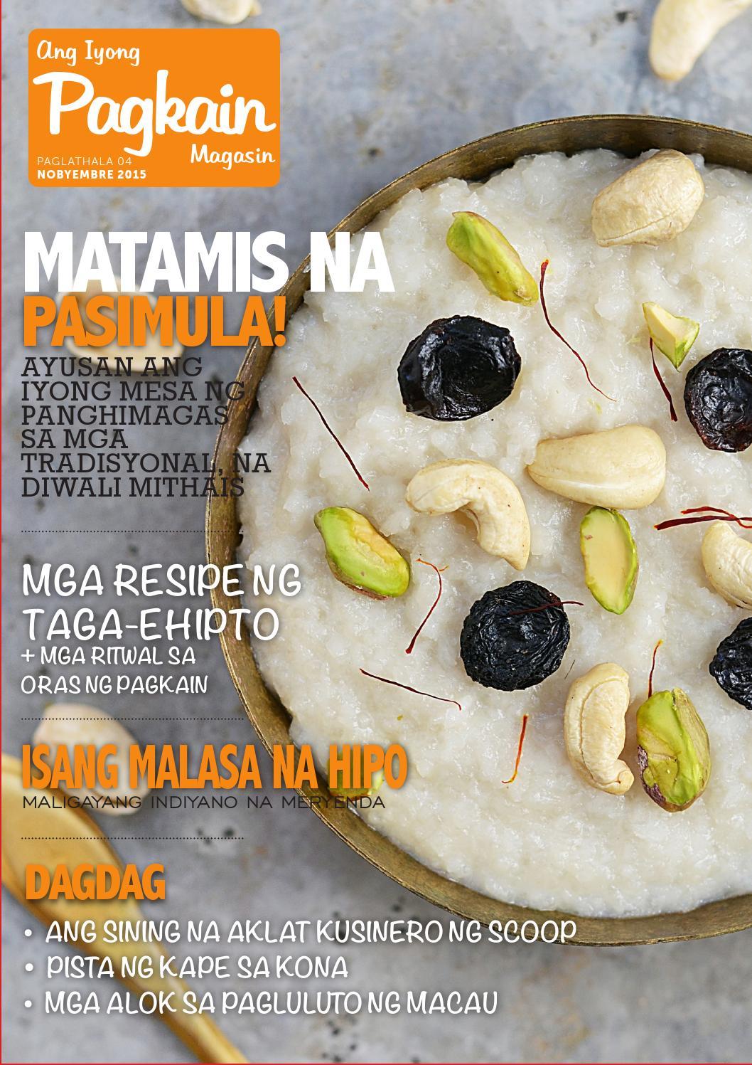 Your Food Mag November Issue Tagalog by PhoenixDigital - issuu