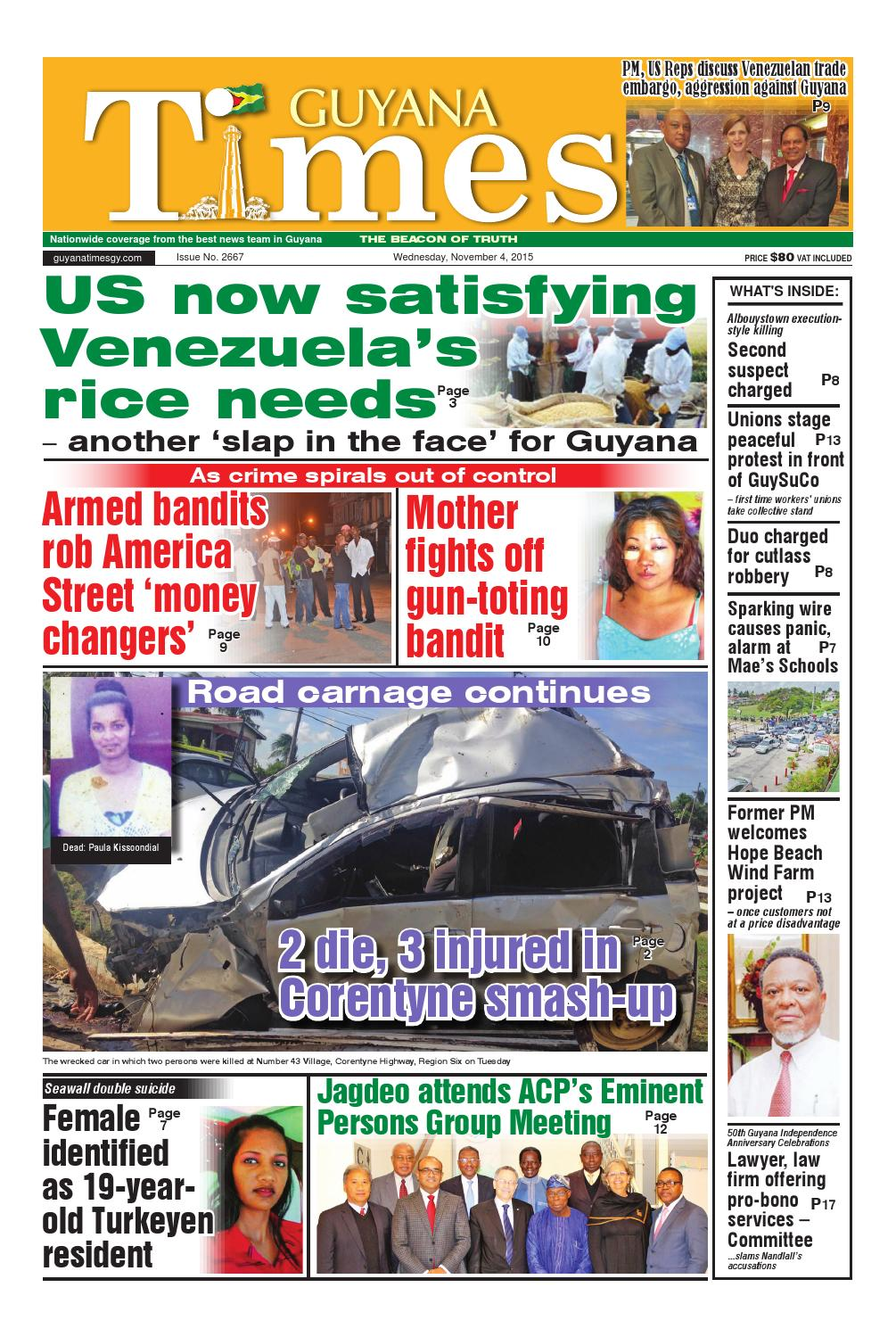 Guyana Times Daily By Gytimes Issuu