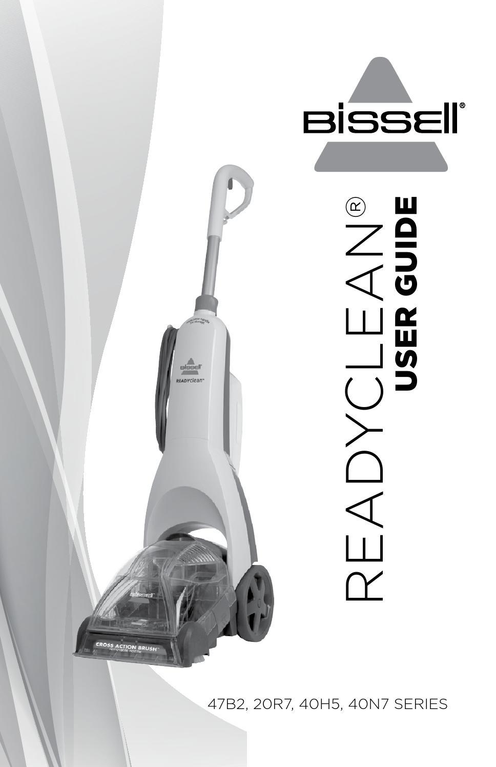 Bissell Readyclean Powerbrush Carpet Cleaner 47b2 Manual