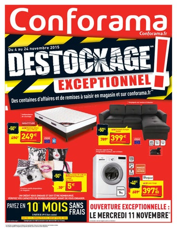 Conforama catalogue 4 24novembre2015 by PromoCatalogues.com ...