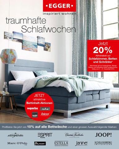 20 Auf Schlafzimmer Betten Und Schranke 10 15 By Mobel Egger Issuu
