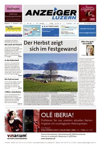 Anzeiger Luzern 44 4.11.2015 by Anzeiger Luzern issuu