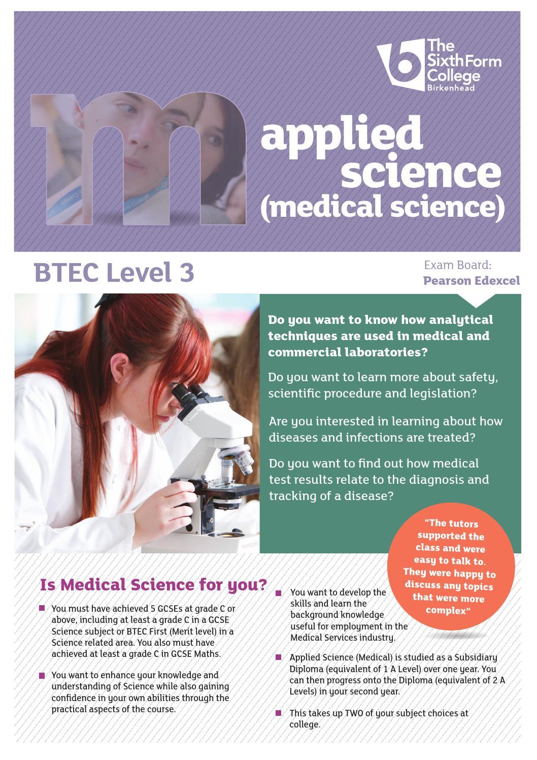 Medical science level 3 by Schudio - issuu