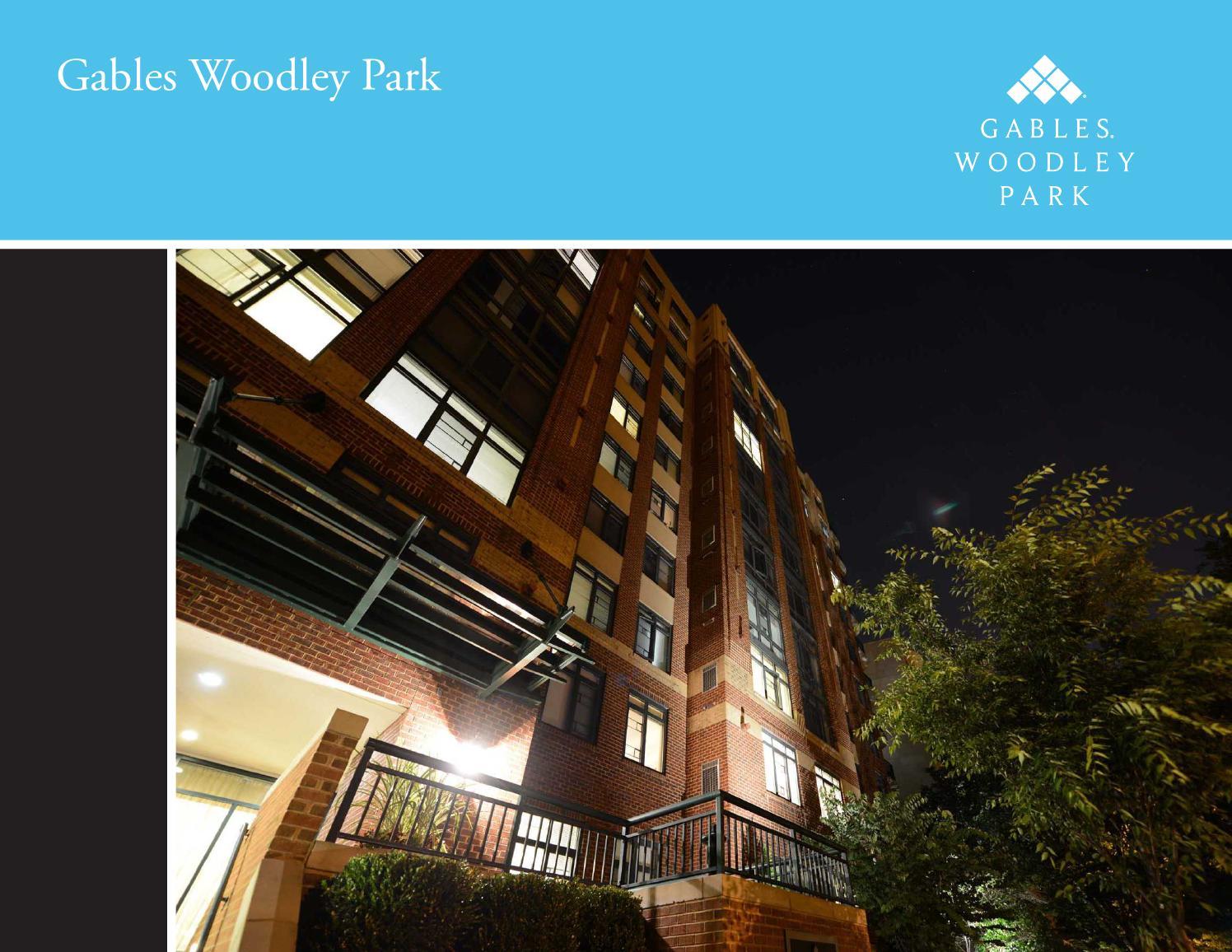 Gables woodley park e brochure by gables residential issuu for 67 park terrace east
