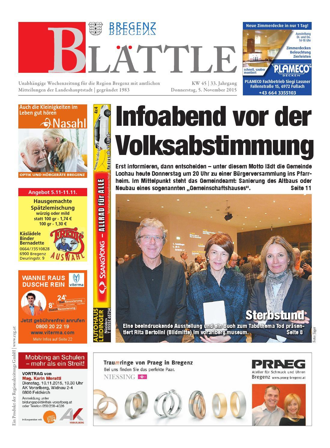 Bregenzer Blaettle 45 By Regionalzeitungs GmbH Issuu