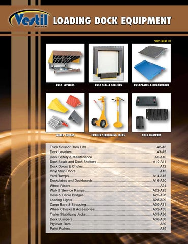 2f18bbb37cb70 CMI - Vestil Loading Dock Equipment Catalog by CMI Sales Inc. - issuu