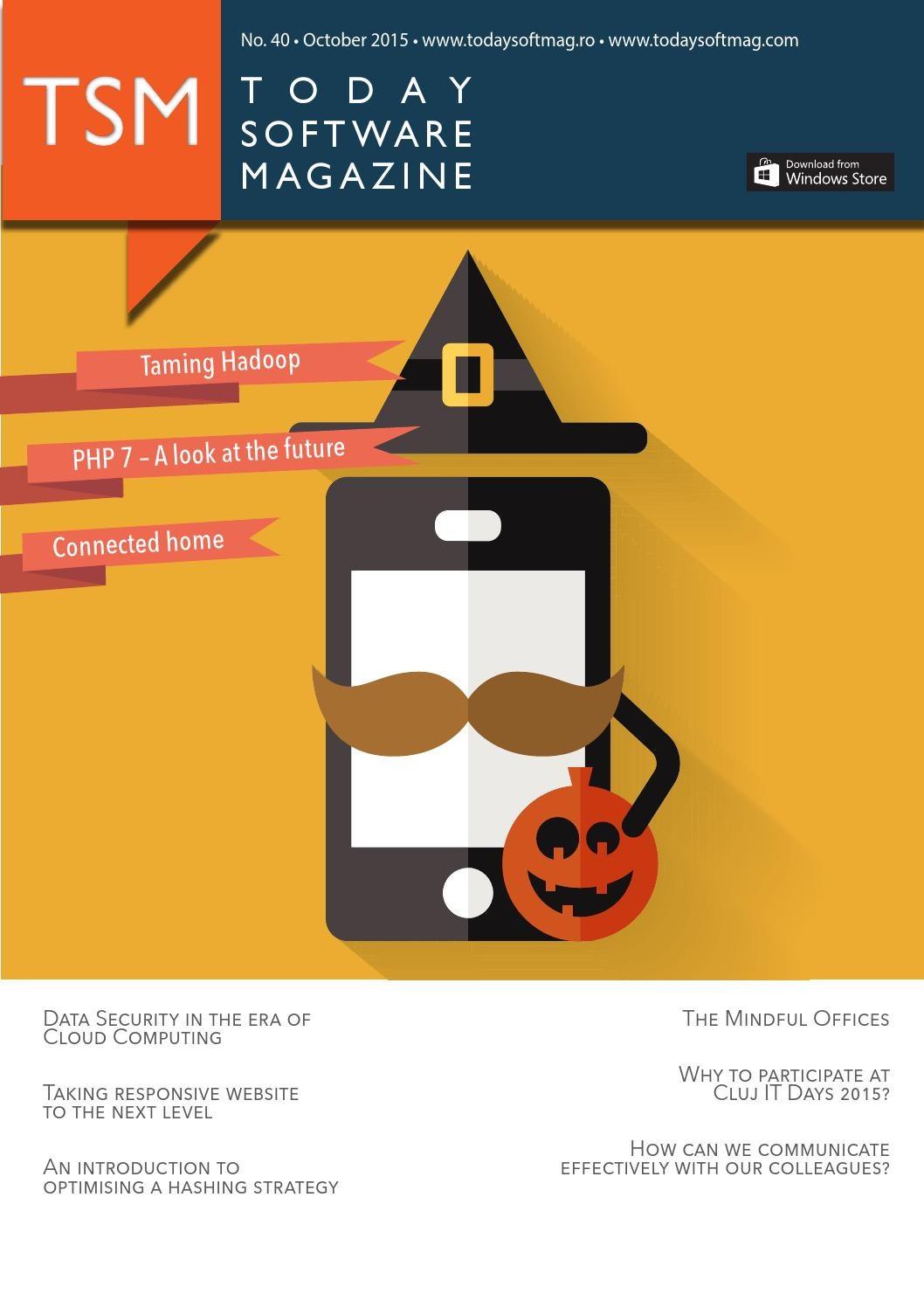 Issue 40 - October 2015 - Today Software Magazine by Today
