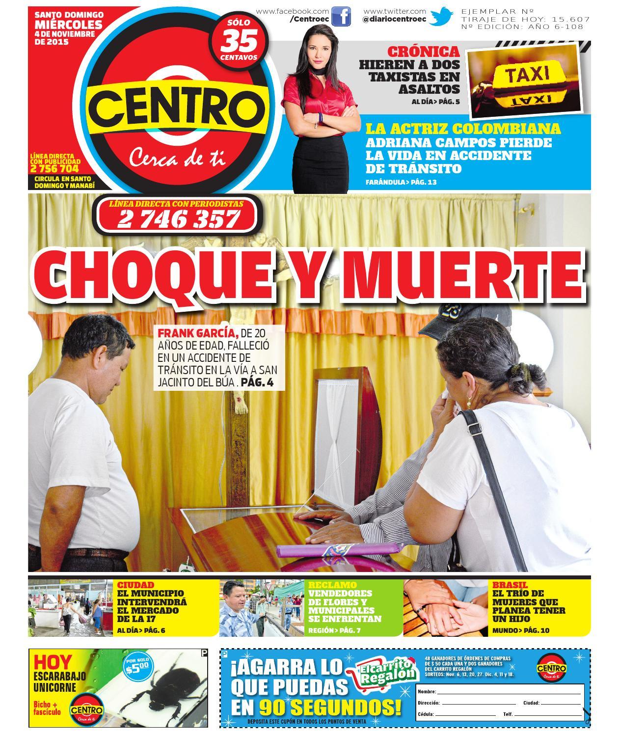 71f1358e1 Centro 4 noviembre 2015 by EDIASA - issuu