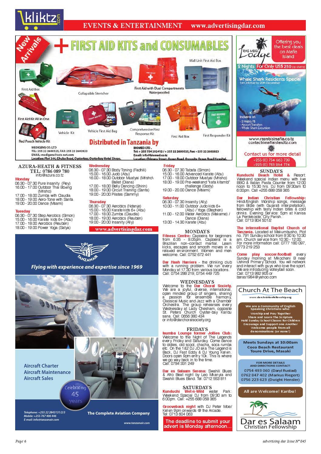 Advertising Dar Issue Nº 845 - 6th November 2015 by