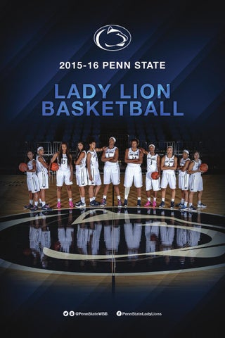 7210cba091fba 2015-16 Penn State Women s Basketball Media Guide by Penn State ...
