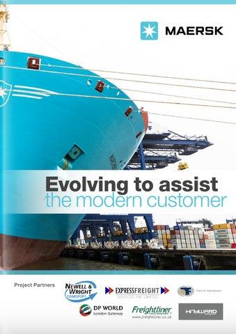 Maersk Brochure November By Supply Chain Digital Issuu - Maersk invoice tracking