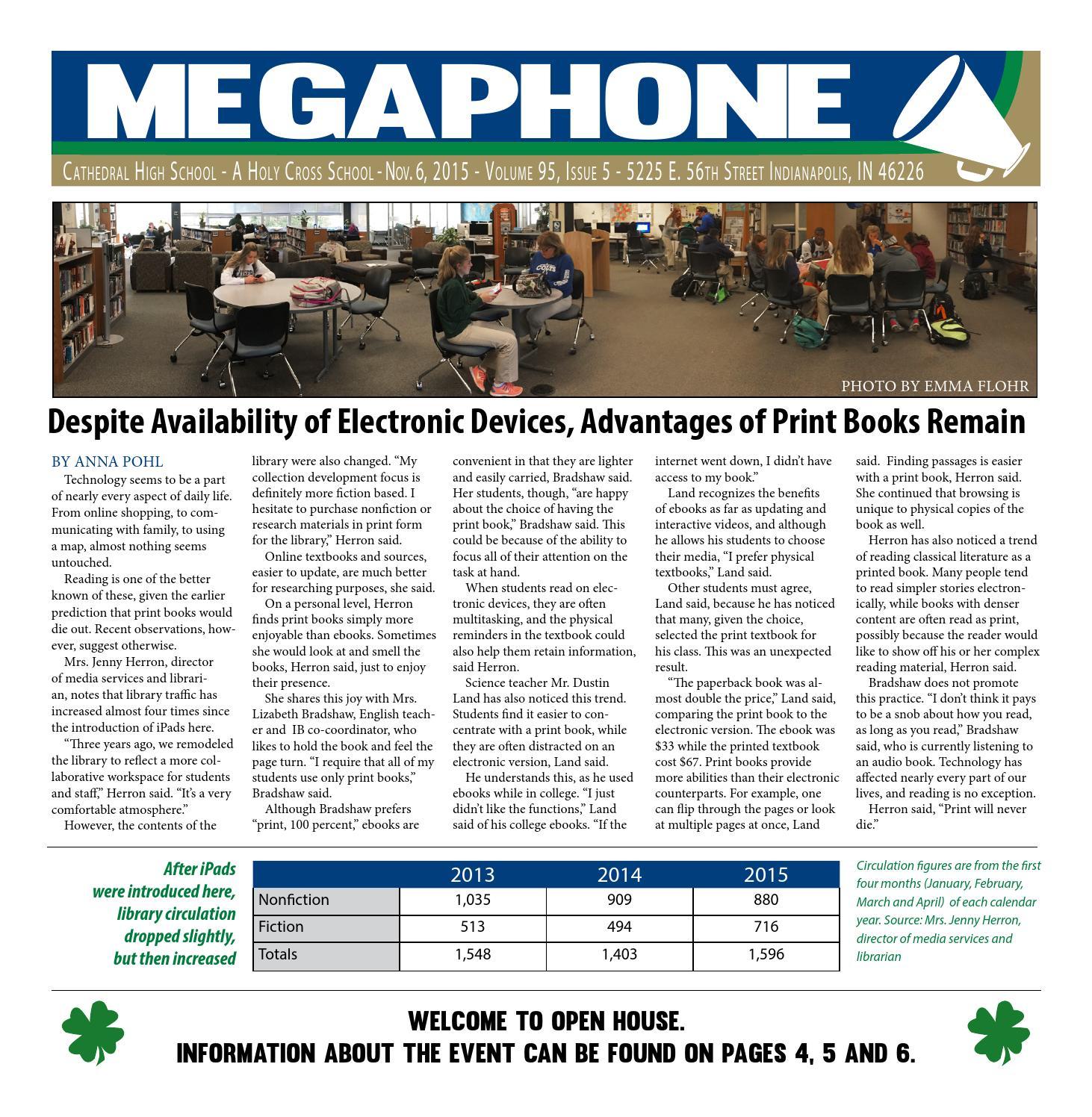 November 4 2015 by Megaphone – Cathedral High School issuu