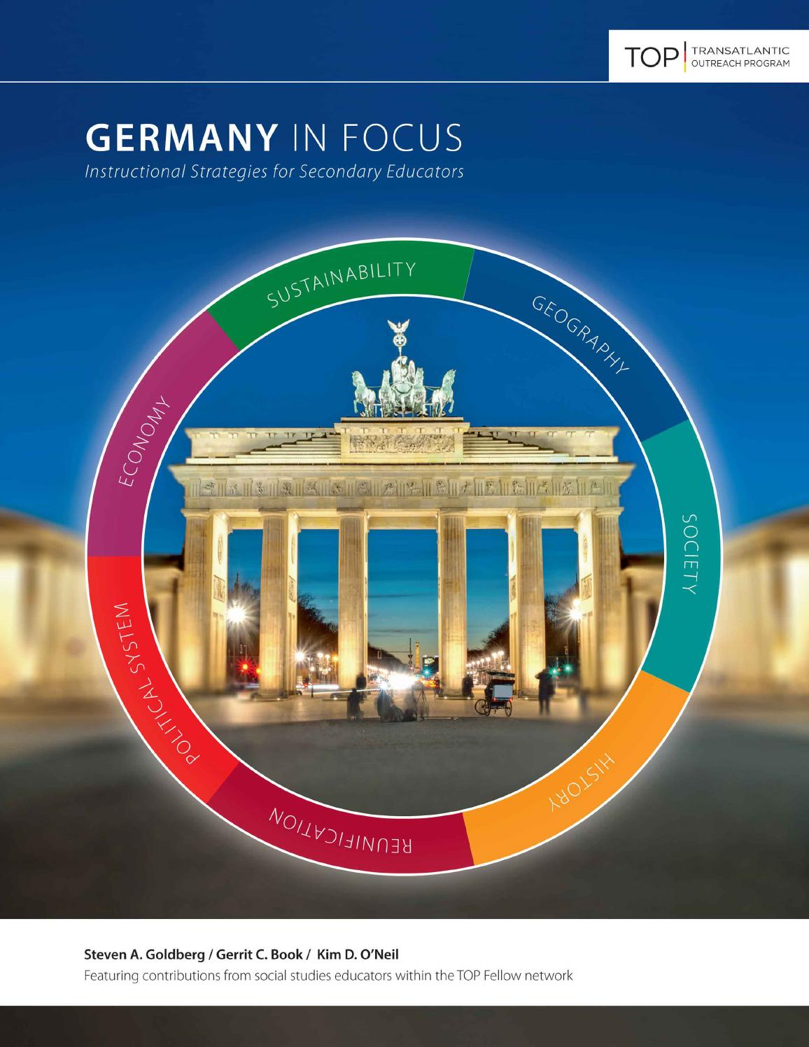 Germany In Focus by Transatlantic Outreach Program - issuu