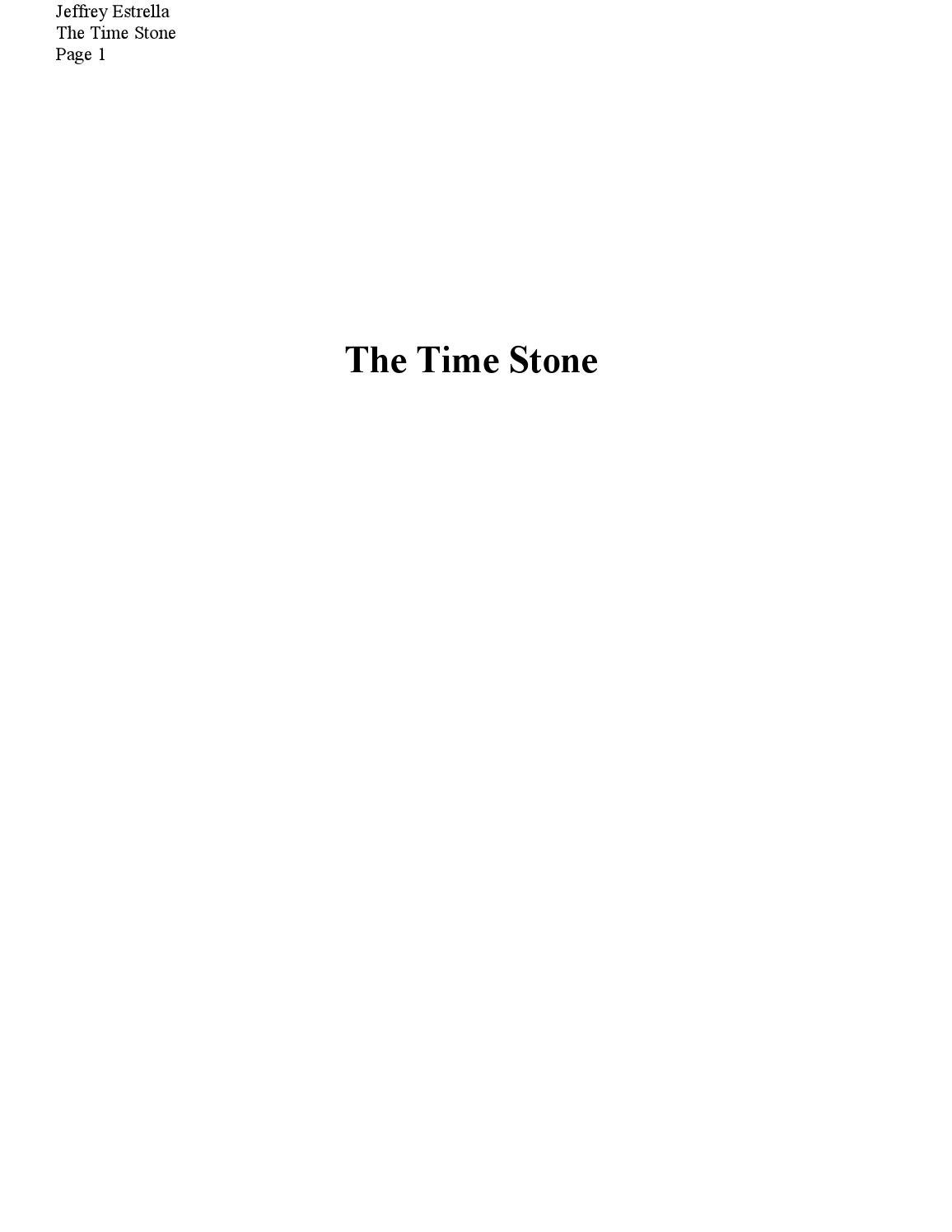 271e2d1165a294 The time stone by The Time Stone - issuu