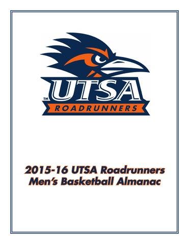ab3ed0bd3 2015-16 UTSA Roadrunners Menâ  x20AC   x2122 s Basketball Almanac
