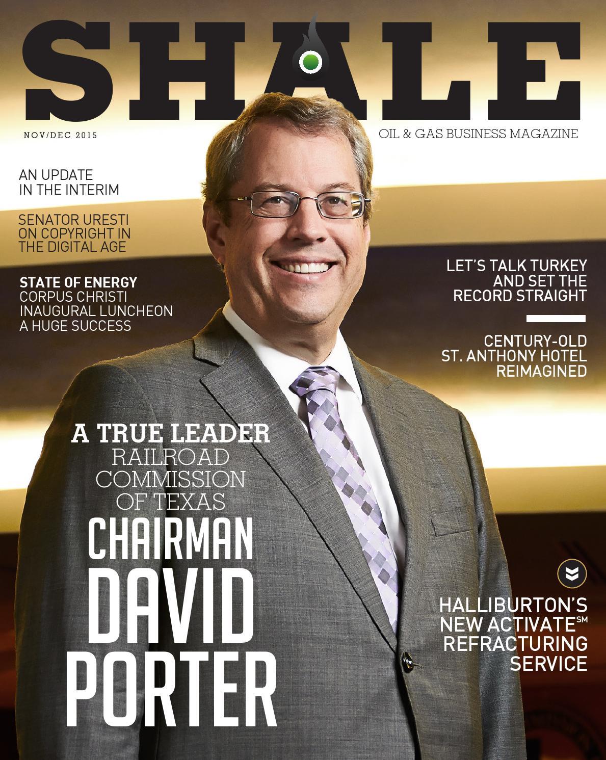 Shale Oil Amp Gas Business Magazine Nov Dec 2015 By Shale