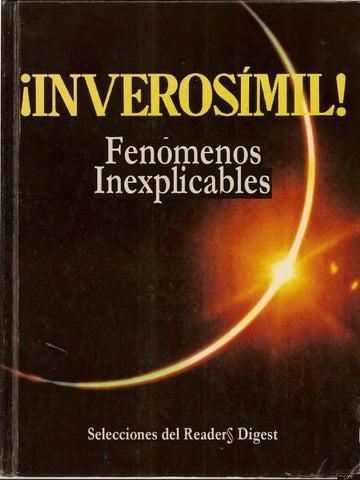 Inverosimil misterios by Biblioteca del Misterio - Issuu