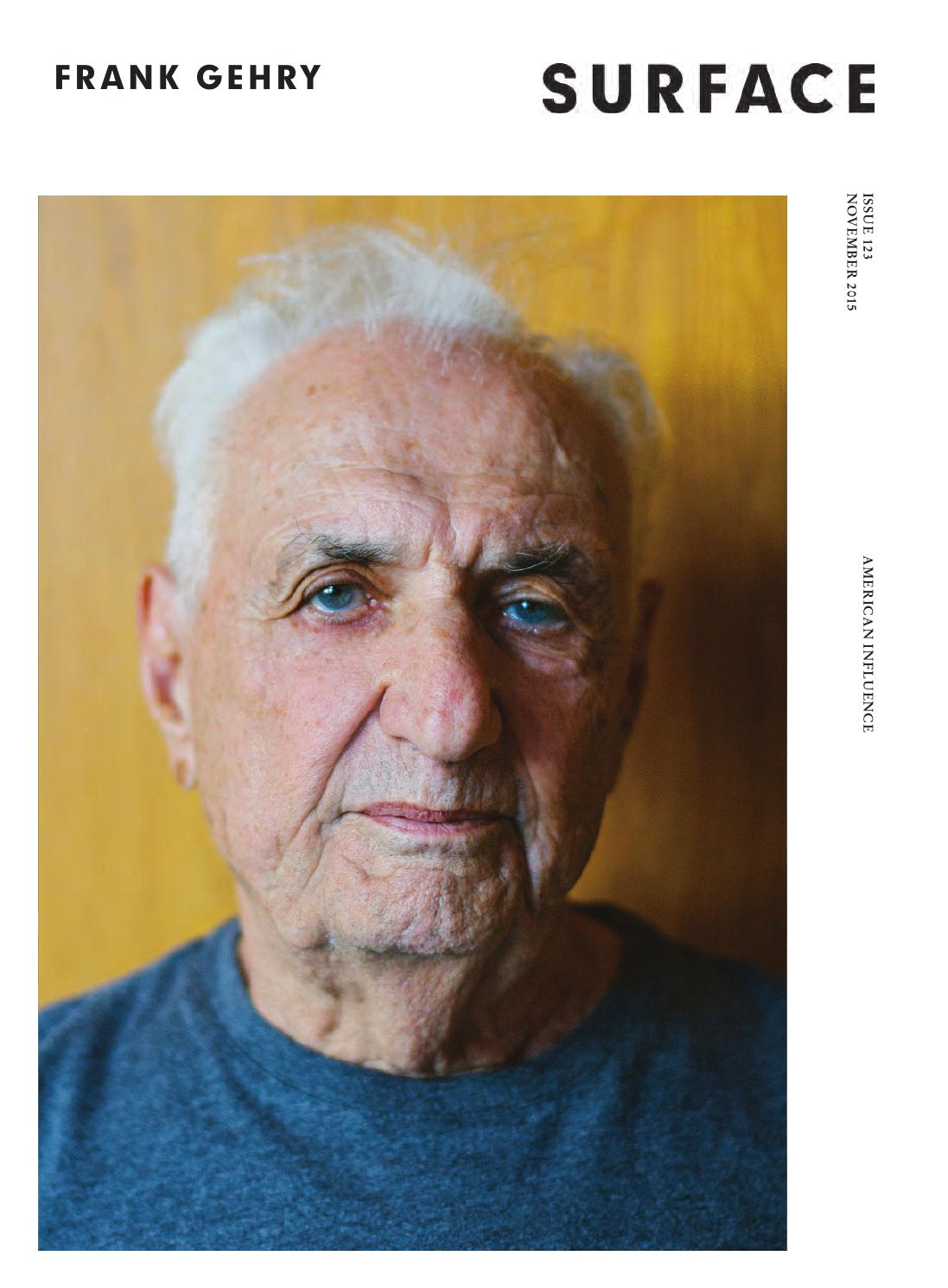 Frank Gehry Chaise Carton surface - frank gehry - november 2015surfacemag - issuu