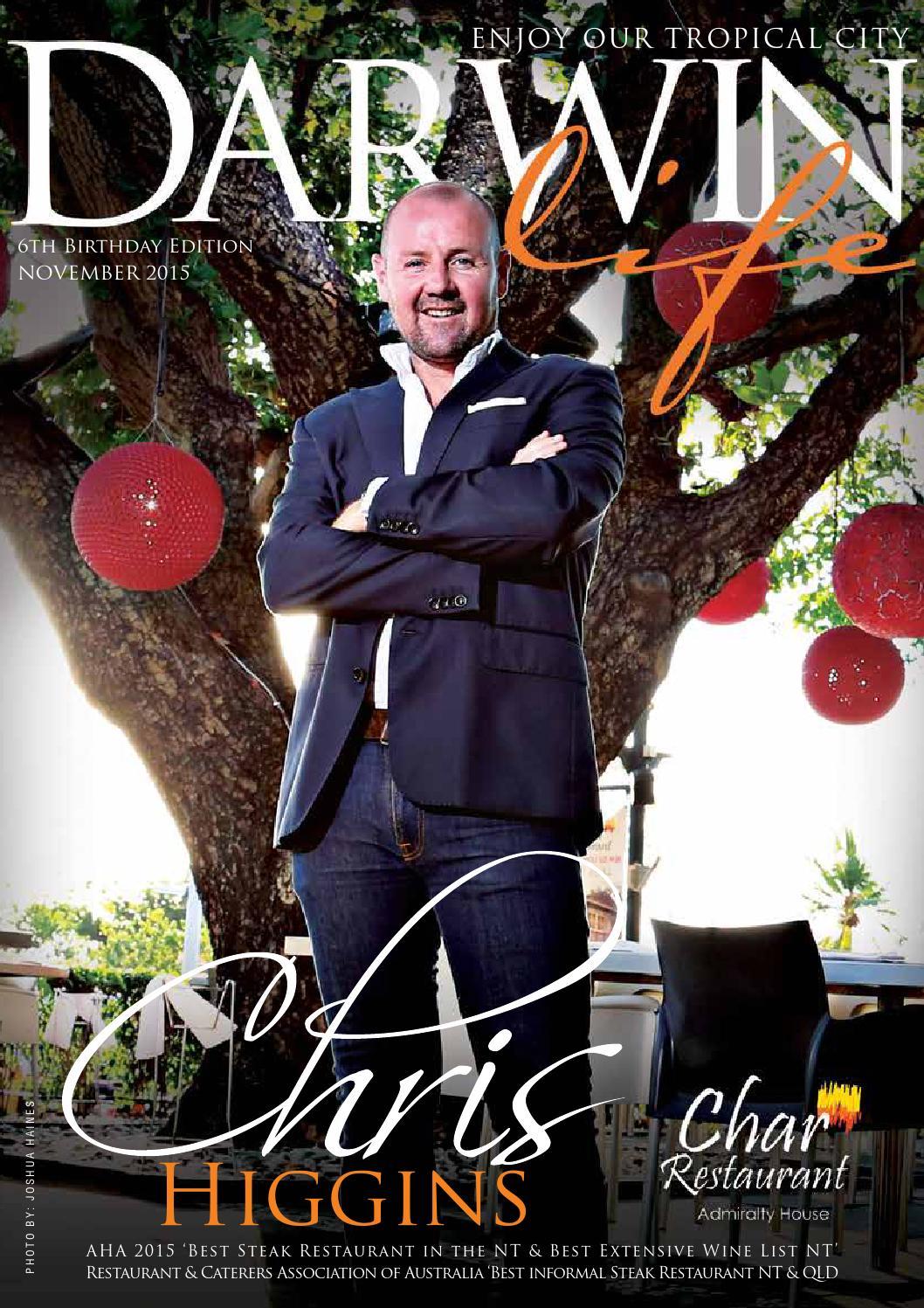 Darwinlife Magazine November 2015 Issue By Darwin Life