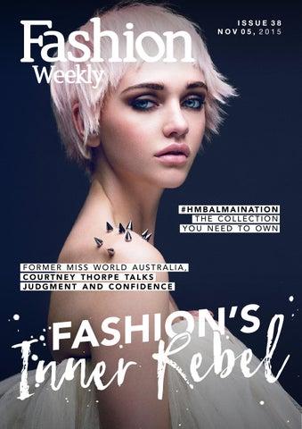 bb2a921d0 Fashion Weekly Issue 38 Fashion s Inner Rebel by Fashion Weekly - issuu