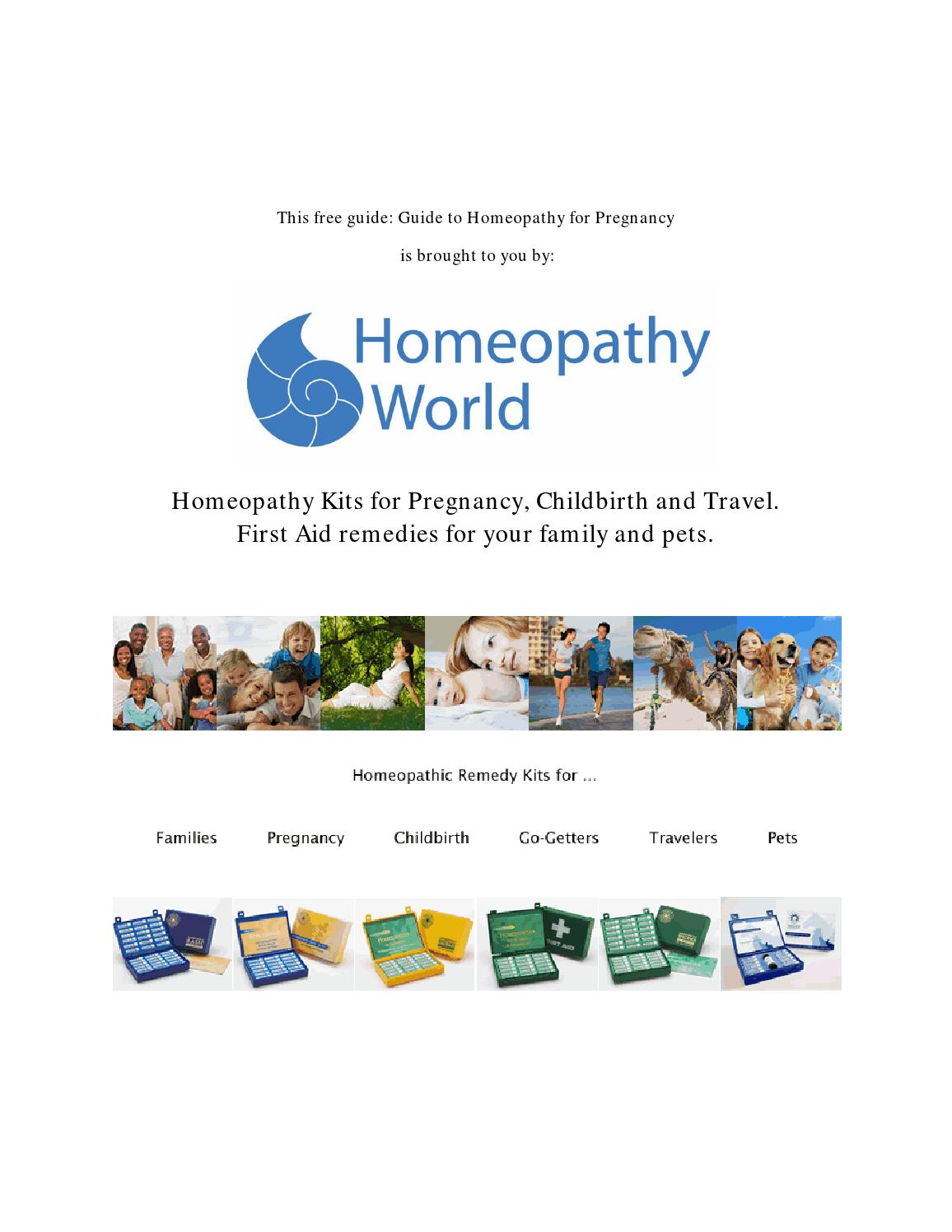 Your guide to homeopathy for pregnancy by mary aspinwall issuu fandeluxe