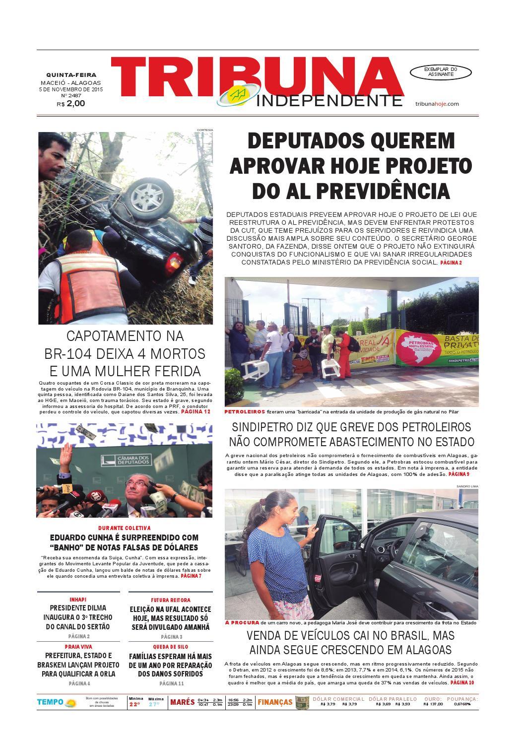 d72412588eb Edição número 2487 - 5 de novembro de 2015 by Tribuna Hoje - issuu