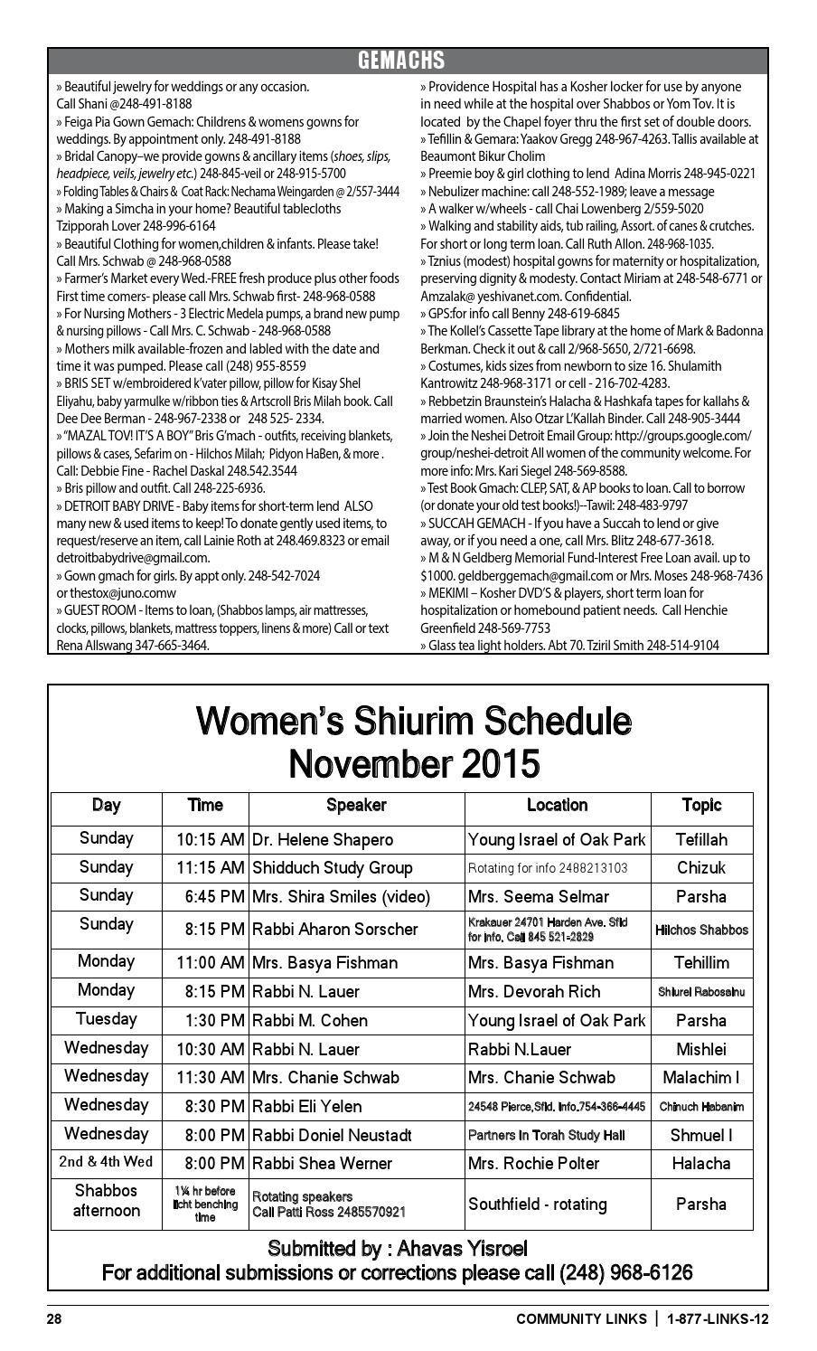 November 2015 by The Community Links Detroit - issuu