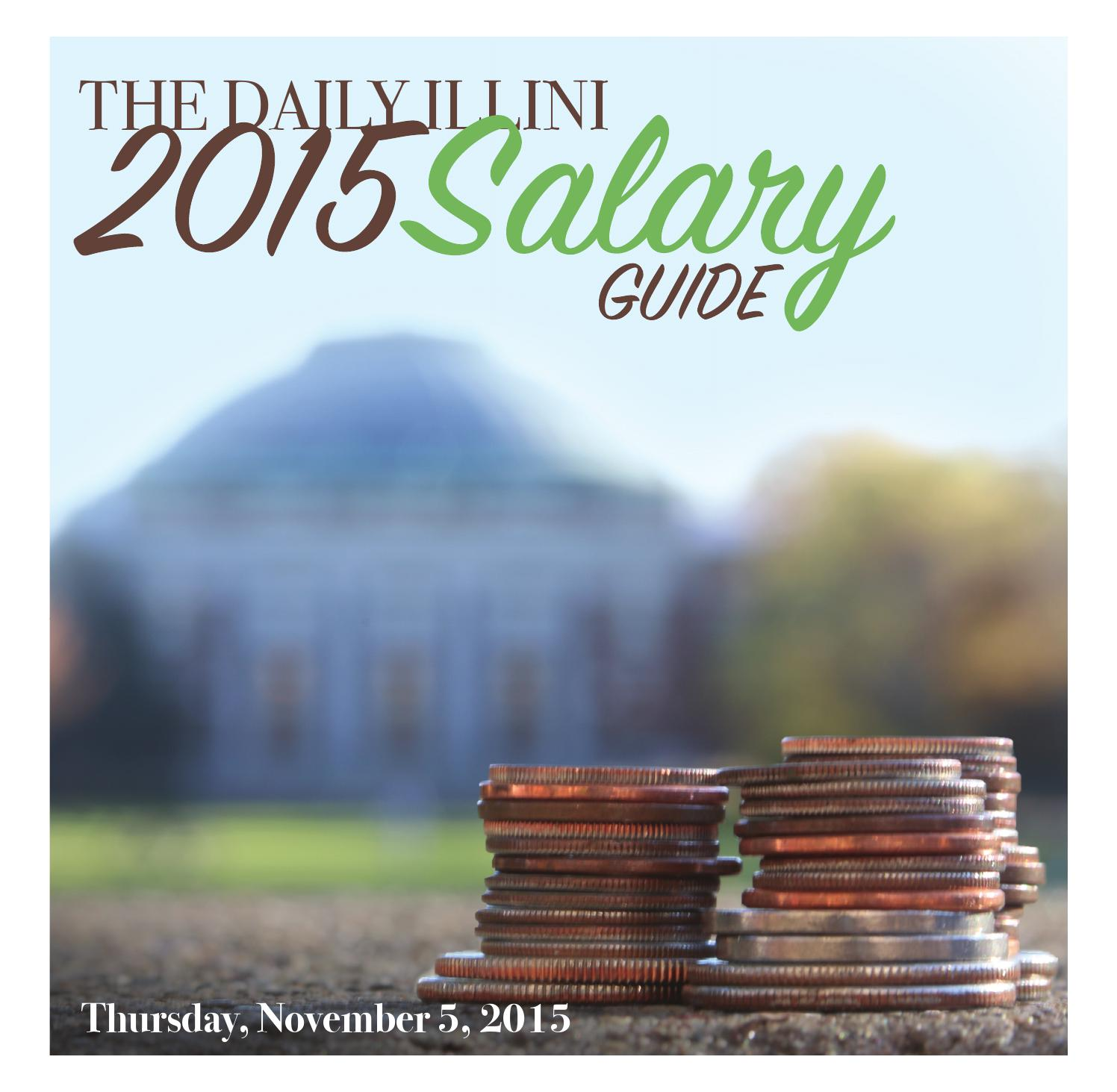 Salary guide | the daily illini.