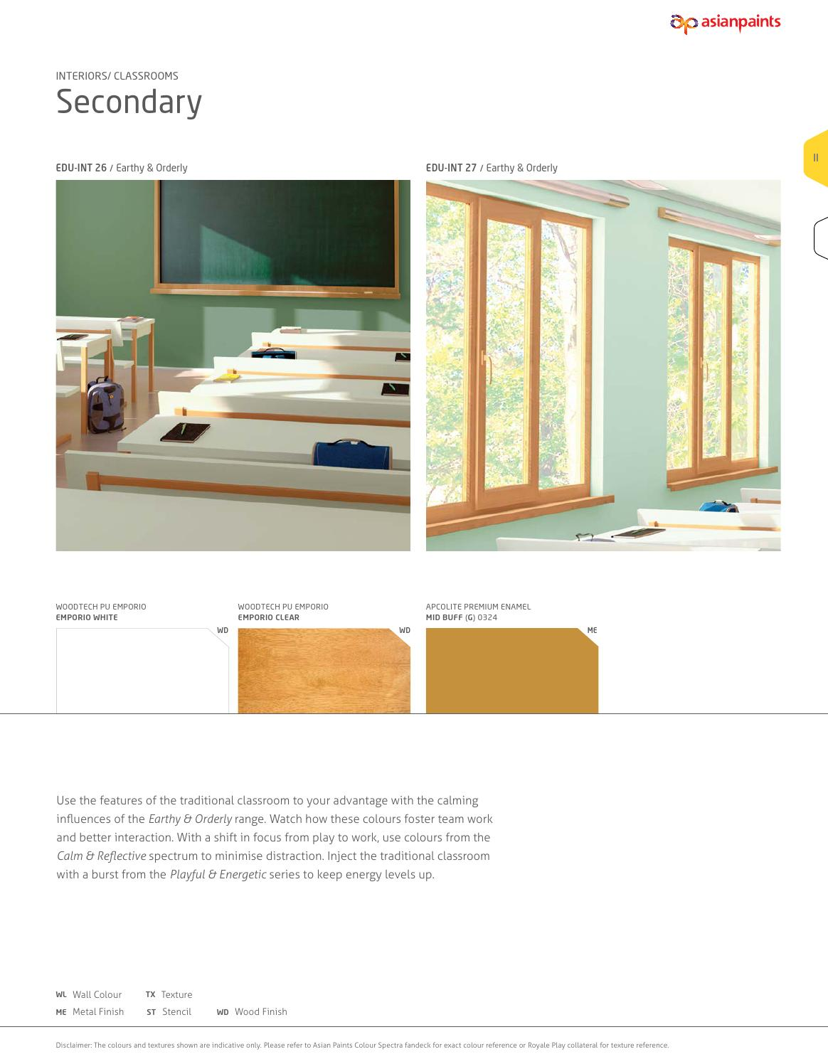 capturar inestable Folleto  Asian Paints Edutones Book by Asian Paints Limited - issuu