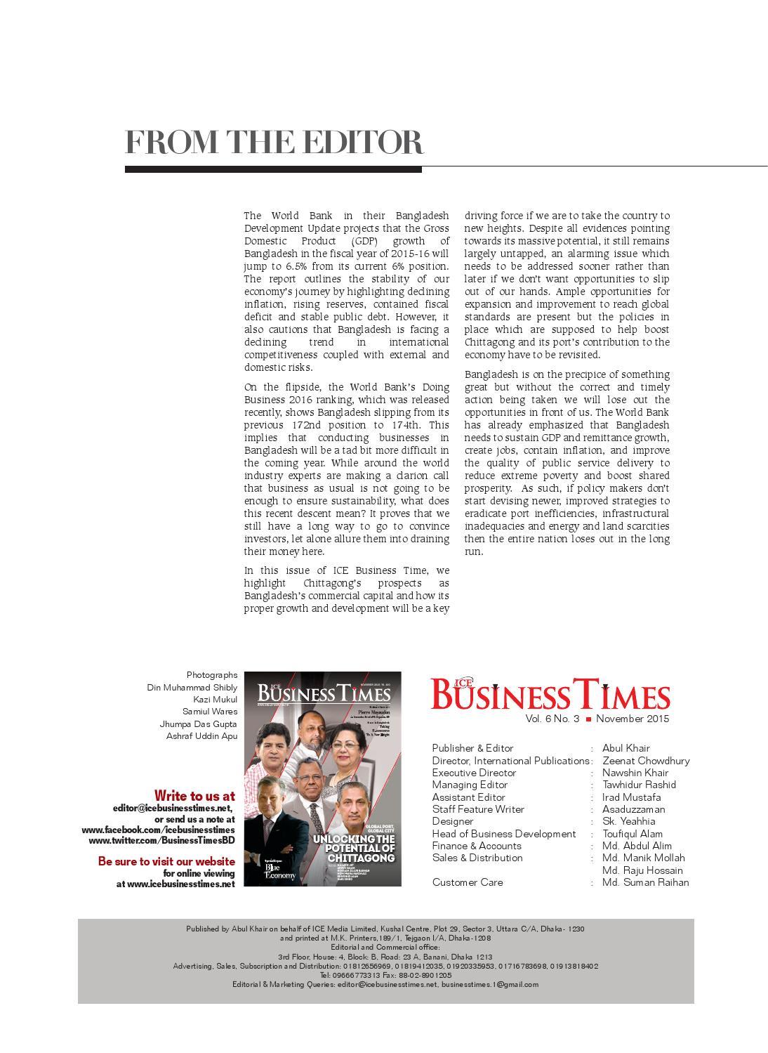 ICE Business Times, November 2015 by ICE Media Ltd  - issuu
