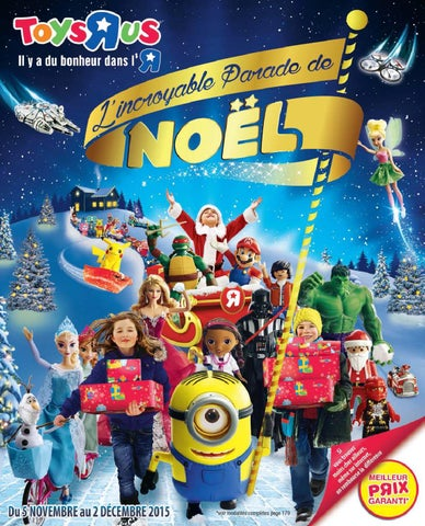 Catalogue by Toys'R'Us issuu LSA Noël conso 2015 jouets 3F1TclKJ