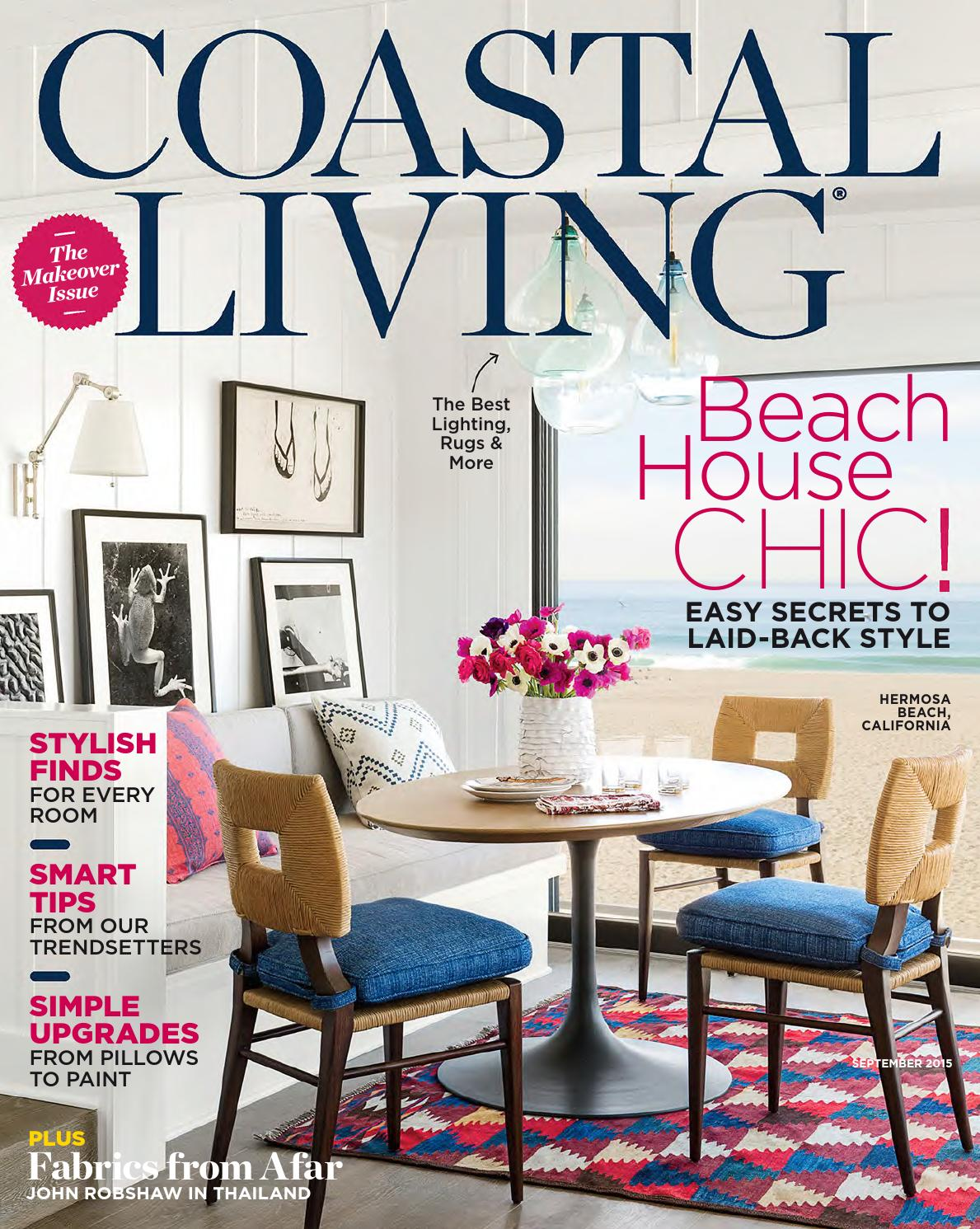 Magzbox Com Coastal Living September 2015 By Nordicsalex   Issuu