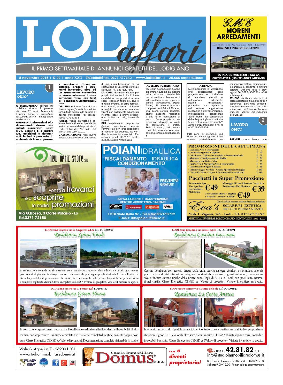 Lodi Affari 5 Novembre By Lodi Affari Issuu