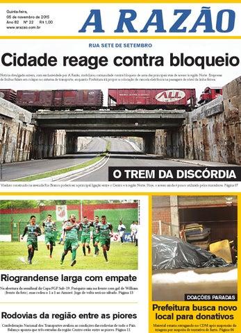 Jornal A Razão 05 11 2015 by Jornal A Razão - issuu ded16ce56cfee