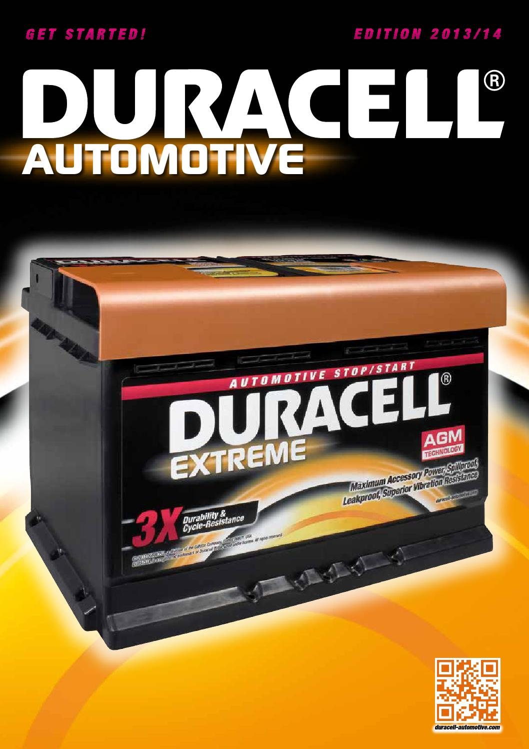 Duracell Catalogus by Mallens Markhorst - issuu