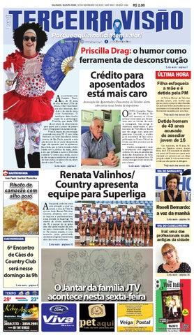 017023c62 E1186 de 05/11/2015 by Jornal Terceira Visão - issuu