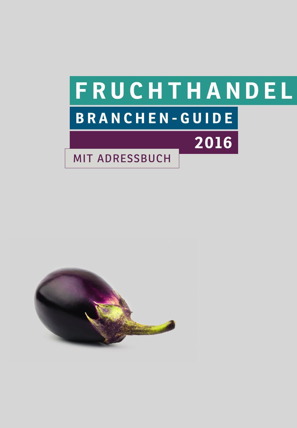 FRUCHTHANDEL Branchen Guide 8 by Fruchthandel Magazin   issuu