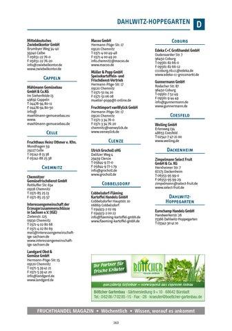 Gartenbau Coesfeld fruchthandel branchen guide 2016 by fruchthandel magazin issuu