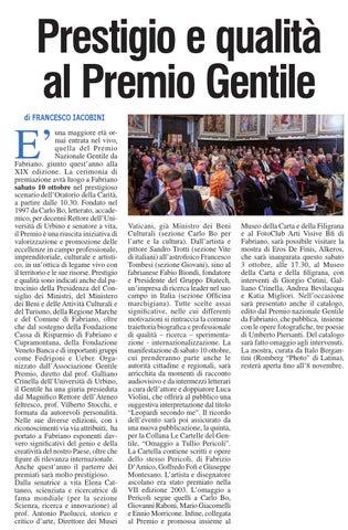 Rassegna stampa Ottobre 2015 by Fondazione Carifac - issuu 1fac2d8b928
