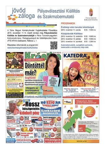 5d4dc52509 TM Krónika 41. szám by Tolna Megyei Krónika - issuu