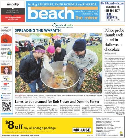 The Beach Mirror, November 5, 2015 by The Beach Mirror - issuu