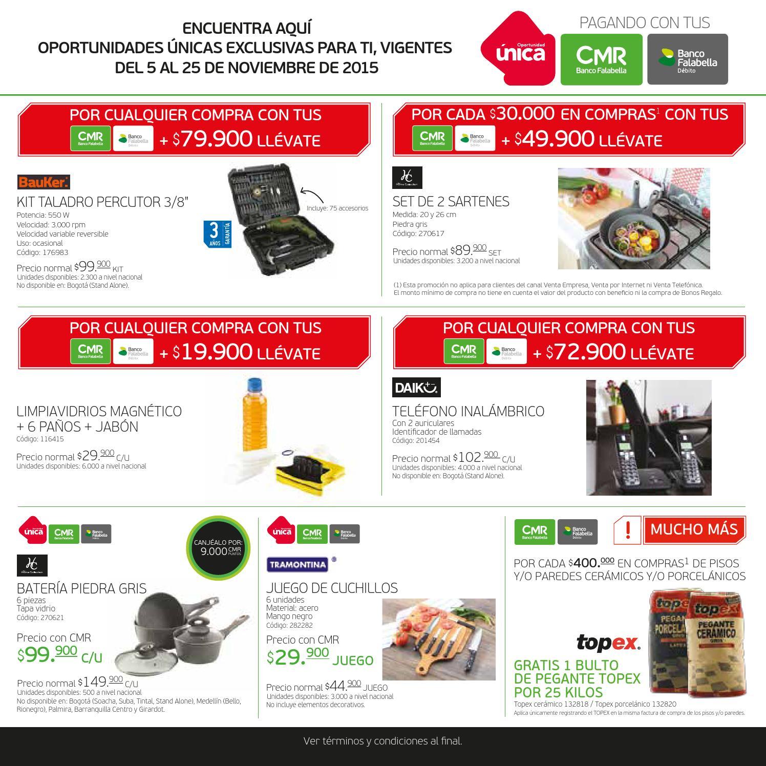 Catálogo Precios Sin Competencia - Homecenter by Banco