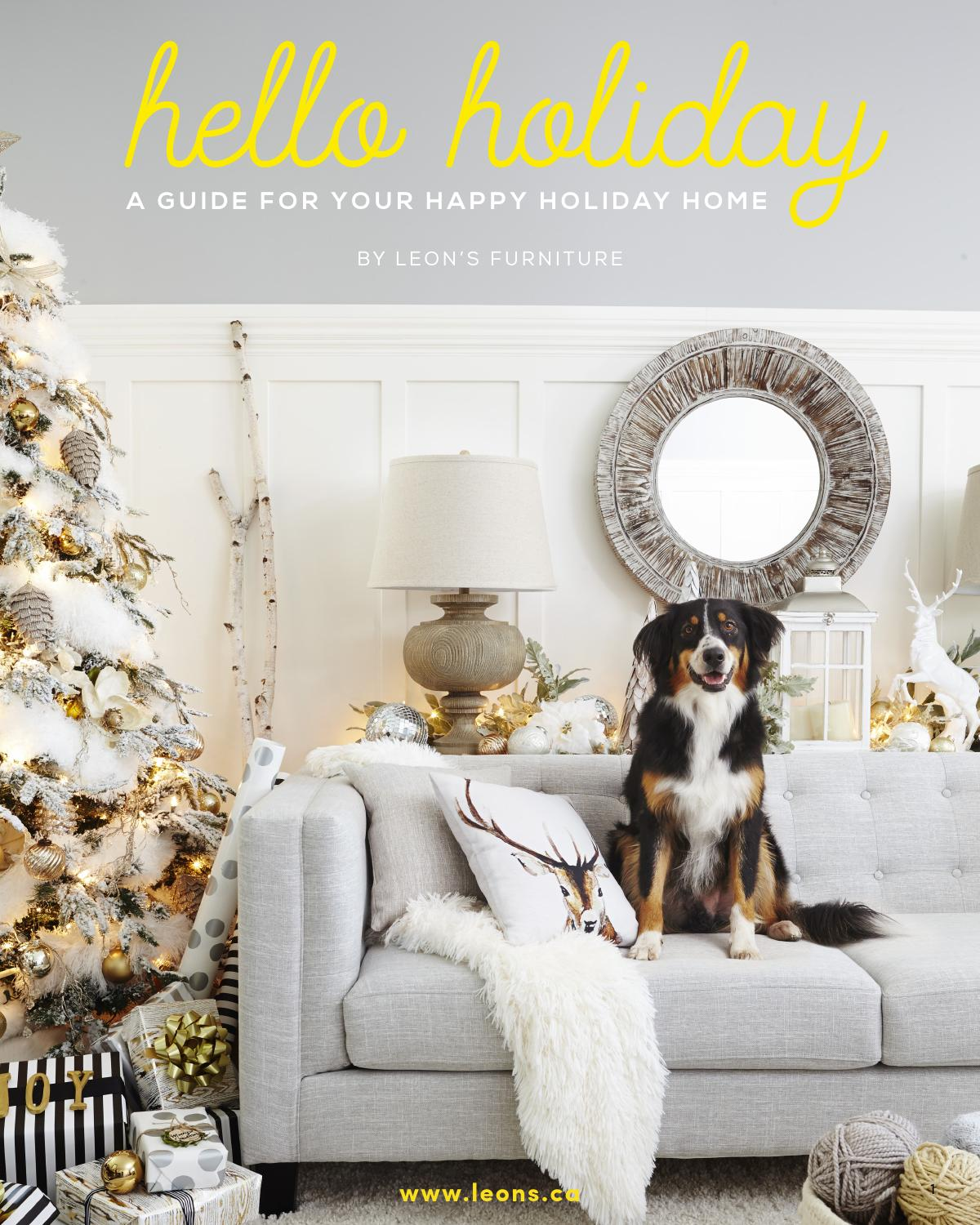 Outstanding Hello Holiday Guide 2015 By Leons Furniture Issuu Dailytribune Chair Design For Home Dailytribuneorg