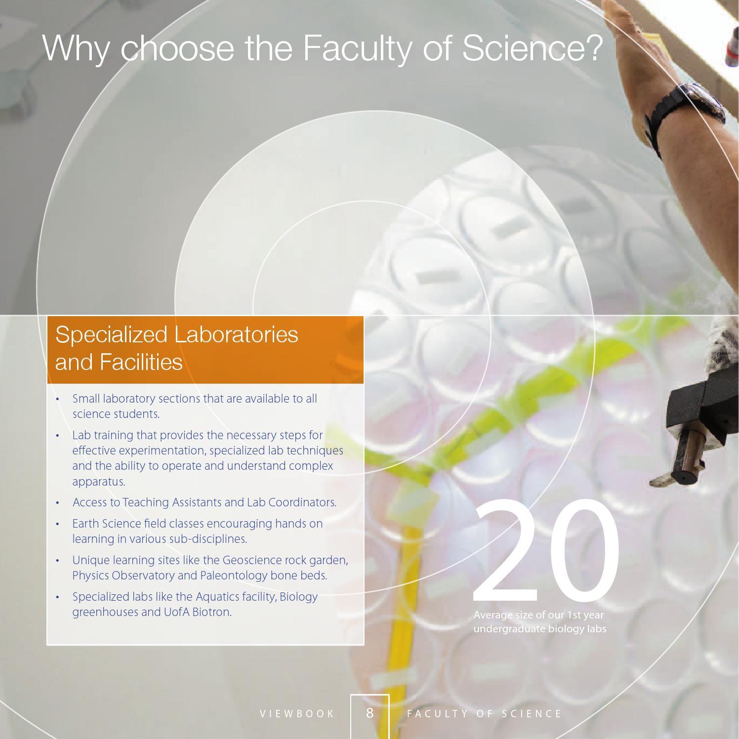 2016-2017 University of Alberta Faculty of Science Viewbook