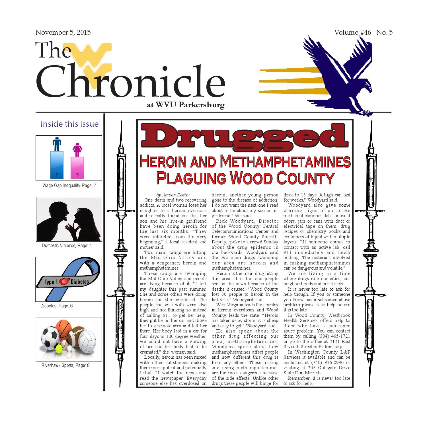 The Chronicle At Wvu Parkersburg Volume 46 No 5 By Torie Jackson Issuu