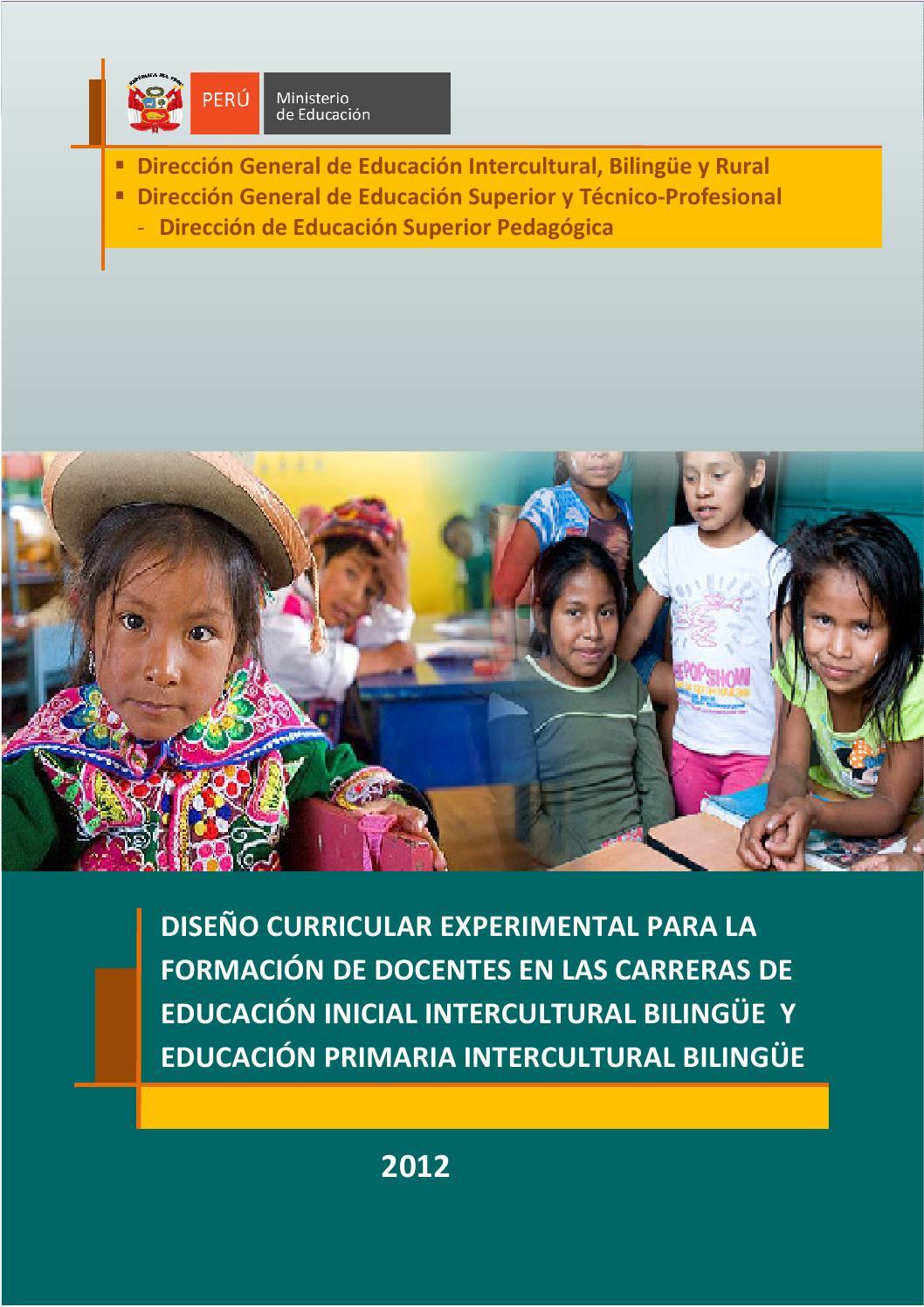 DC Experimental Educación Primaria Intercultural Bilingue by ...